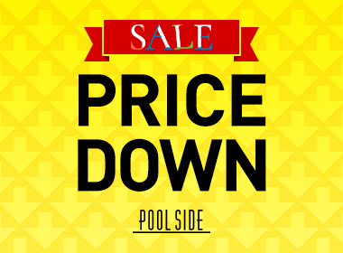 【SALE】 Item of POOLSIDE price down! Pick up recommended items from the target item ♪