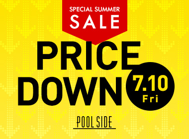 [SALE] Some items of POOLSIDE are priced down from 7/10! This is the target product!